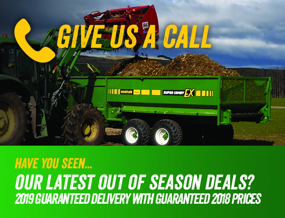 Latest silage wagon promotion
